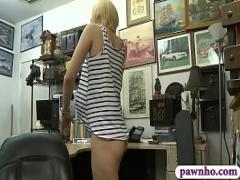 Super sexual video category blonde (300 sec). Short blonde hair hammered by pawn dude.