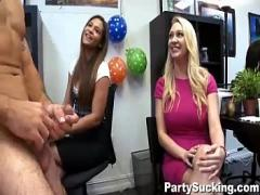 Play film category blowjob (419 sec). Amateurs Sucking the Dancing Bear.