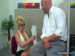 Good youtube video category milf (1652 sec). Pussylicked milf secretary rides bosses cock.