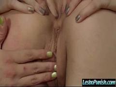 Sexy blonde babe goes crazy masturbating