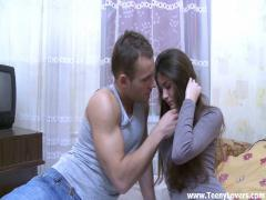 Adult video link category Teeny Lovers (180) sec. Shy cutie unleashes the whore(Anna).
