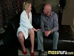 XXX romantic video category massage (306 sec). Awesome Nuru gel Fuck 28.