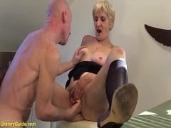 XXX tube video category mature (745 sec). 83 years old mom brutal fucked by stepson.